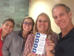 Angela attended Sam Smith 8/21 at Pepsi Center in Denver on Aug 21st 2018 via VetTix
