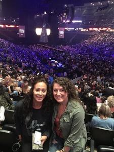 Jennifer attended Sam Smith 8/21 at Pepsi Center in Denver on Aug 21st 2018 via VetTix