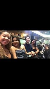 brett attended Sam Smith 8/21 at Pepsi Center in Denver on Aug 21st 2018 via VetTix