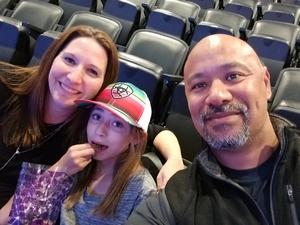 Jesse attended Sam Smith 8/21 at Pepsi Center in Denver on Aug 21st 2018 via VetTix