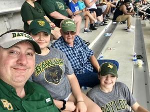 Robert attended Baylor University Bears vs. Duke - NCAA Football on Sep 15th 2018 via VetTix