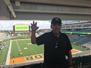 Gary attended Baylor University Bears vs. Duke - NCAA Football on Sep 15th 2018 via VetTix