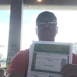 keena attended Baylor University Bears vs. Duke - NCAA Football on Sep 15th 2018 via VetTix