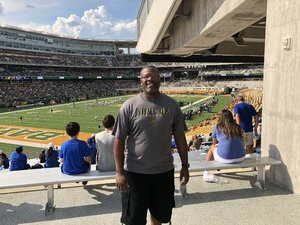 Tony attended Baylor University Bears vs. Duke - NCAA Football on Sep 15th 2018 via VetTix