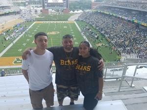 john attended Baylor University Bears vs. Duke - NCAA Football on Sep 15th 2018 via VetTix