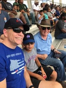 Dwight attended Baylor University Bears vs. Duke - NCAA Football on Sep 15th 2018 via VetTix