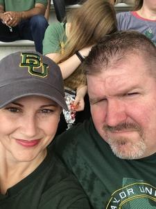 Richard attended Baylor University Bears vs. Duke - NCAA Football on Sep 15th 2018 via VetTix