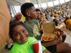 Tamaiki attended Baylor University Bears vs. Duke - NCAA Football on Sep 15th 2018 via VetTix