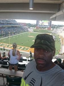 Timothy attended Baylor University Bears vs. Duke - NCAA Football on Sep 15th 2018 via VetTix