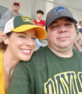 Regina attended Baylor University Bears vs. Duke - NCAA Football on Sep 15th 2018 via VetTix