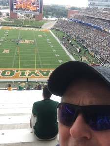 Michael attended Baylor University Bears vs. Duke - NCAA Football on Sep 15th 2018 via VetTix