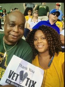 Robert attended Baylor University Bears vs. Duke - NCAA Football on Sep 15th 2018 via VetTix