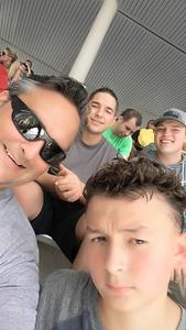 Joseph attended Baylor University Bears vs. Kansas State - NCAA Football on Oct 6th 2018 via VetTix