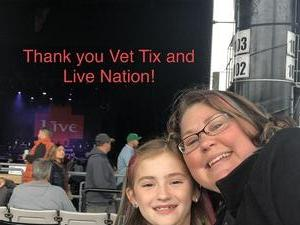 Anthony attended Counting Crows With Special Guest +live+: 25 Years and Counting - Alternative Rock on Sep 8th 2018 via VetTix