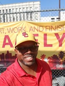 Raymond attended USC Trojans vs. UNLV - NCAA Football on Sep 1st 2018 via VetTix