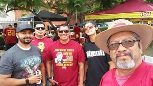 adrian attended USC Trojans vs. UNLV - NCAA Football on Sep 1st 2018 via VetTix
