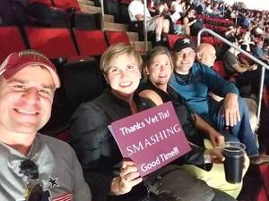 Joel attended The Smashing Pumpkins: Shiny and Oh So Bright Tour - Alternative Rock on Aug 24th 2018 via VetTix