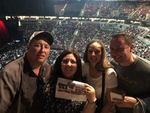 Lisa and Eric attended The Smashing Pumpkins: Shiny and Oh So Bright Tour - Alternative Rock on Aug 24th 2018 via VetTix