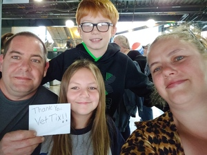 Nathan attended The Smashing Pumpkins: Shiny and Oh So Bright Tour - Alternative Rock on Aug 24th 2018 via VetTix