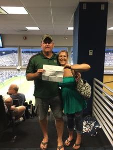 John attended UCONN Huskies vs. UCF Knights- NCAA Football on Aug 30th 2018 via VetTix