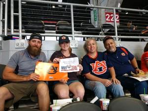 michael attended Washington Huskies vs. Auburn Tigers - Chick-fil-a Kickoff Game! on Sep 1st 2018 via VetTix