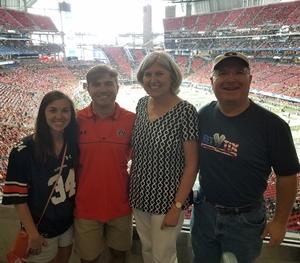 Norman attended Washington Huskies vs. Auburn Tigers - Chick-fil-a Kickoff Game! on Sep 1st 2018 via VetTix