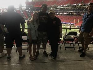 John attended Washington Huskies vs. Auburn Tigers - Chick-fil-a Kickoff Game! on Sep 1st 2018 via VetTix
