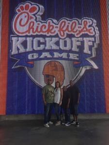 Travis attended Washington Huskies vs. Auburn Tigers - Chick-fil-a Kickoff Game! on Sep 1st 2018 via VetTix