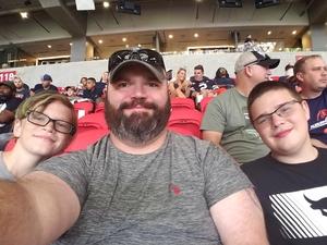 Scott attended Washington Huskies vs. Auburn Tigers - Chick-fil-a Kickoff Game! on Sep 1st 2018 via VetTix