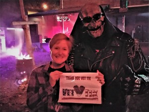 Kathy attended Wells Township Haunted House - Friday Night Show Only on Sep 28th 2018 via VetTix