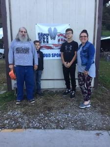 Kerry and family attended Wells Township Haunted House - Friday Night Show Only on Sep 28th 2018 via VetTix