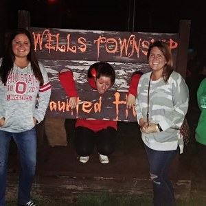 Amanda attended Wells Township Haunted House - Friday Night Show Only on Sep 28th 2018 via VetTix