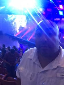 Adrian attended Marvel Universe Live! Age of Heroes - Presented by the Frank Erwin Center on Aug 24th 2018 via VetTix
