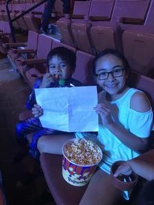 Juan attended Marvel Universe Live! Age of Heroes - Presented by the Frank Erwin Center on Aug 24th 2018 via VetTix