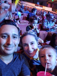 Anthony attended Marvel Universe Live! Age of Heroes - Presented by the Frank Erwin Center on Aug 24th 2018 via VetTix