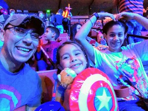 Roberto attended Marvel Universe Live! Age of Heroes - Presented by the Frank Erwin Center on Aug 24th 2018 via VetTix