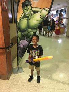 Nakia attended Marvel Universe Live! Age of Heroes - Presented by the Frank Erwin Center on Aug 24th 2018 via VetTix