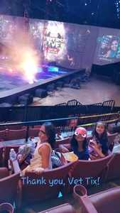 The Ruiz Family attended Marvel Universe Live! Age of Heroes - Presented by the Frank Erwin Center on Aug 24th 2018 via VetTix