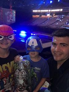Joe attended Marvel Universe Live! Age of Heroes - Presented by the Frank Erwin Center on Aug 26th 2018 via VetTix