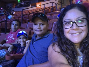 Sonia attended Marvel Universe Live! Age of Heroes - Presented by the Frank Erwin Center on Aug 26th 2018 via VetTix