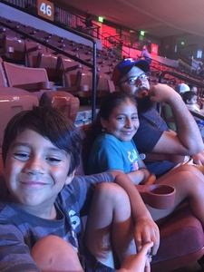 Kelly attended Marvel Universe Live! Age of Heroes - Presented by the Frank Erwin Center on Aug 26th 2018 via VetTix