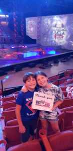 Jesse attended Marvel Universe Live! Age of Heroes - Presented by the Frank Erwin Center on Aug 26th 2018 via VetTix