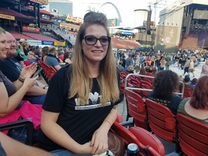 Candice attended Journey & Def Leppard Concert on Aug 24th 2018 via VetTix