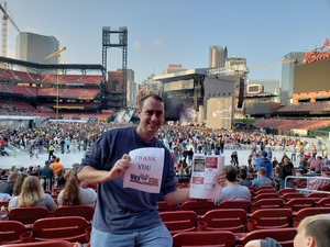Tommy attended Journey & Def Leppard Concert on Aug 24th 2018 via VetTix
