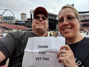 Randy & Meg attended Journey & Def Leppard Concert on Aug 24th 2018 via VetTix