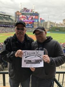 Robert attended Detroit Tigers vs. St. Louis Cardinals - MLB on Sep 9th 2018 via VetTix