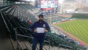 Kevin attended Detroit Tigers vs. St. Louis Cardinals - MLB on Sep 9th 2018 via VetTix