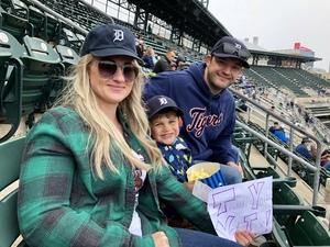 Trystyn attended Detroit Tigers vs. St. Louis Cardinals - MLB on Sep 9th 2018 via VetTix