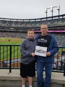 Gary attended Detroit Tigers vs. St. Louis Cardinals - MLB on Sep 9th 2018 via VetTix