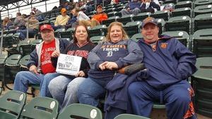 Patrick & Julia Hatfield attended Detroit Tigers vs. St. Louis Cardinals - MLB on Sep 9th 2018 via VetTix